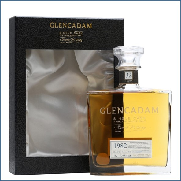 Glencadam 32 Year Old 1982 Bot.2014 Cask #750 70cl 45.5%