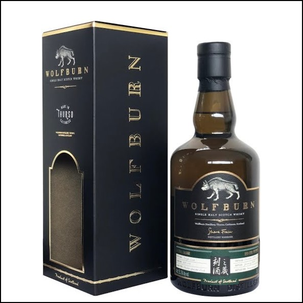 Wolfburn Distillery Taiwan Exclusive Single Malt Scotch Whisky 70cl 55.3%