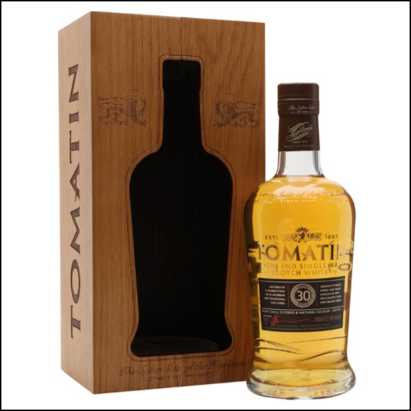 Tomatin 30 Year Old 2018 70cl 46%