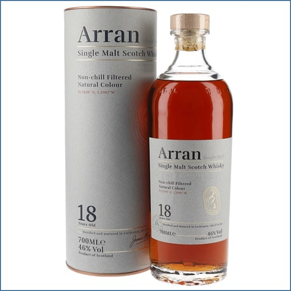 Arran 18 Year Old 2019 Release 70cl 46%