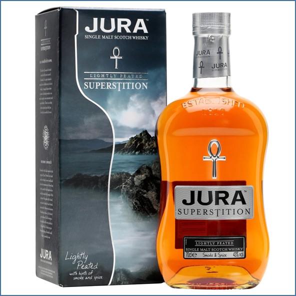 Isle of Jura Superstition Island Single Malt Scotch Whisky 70cl 43%