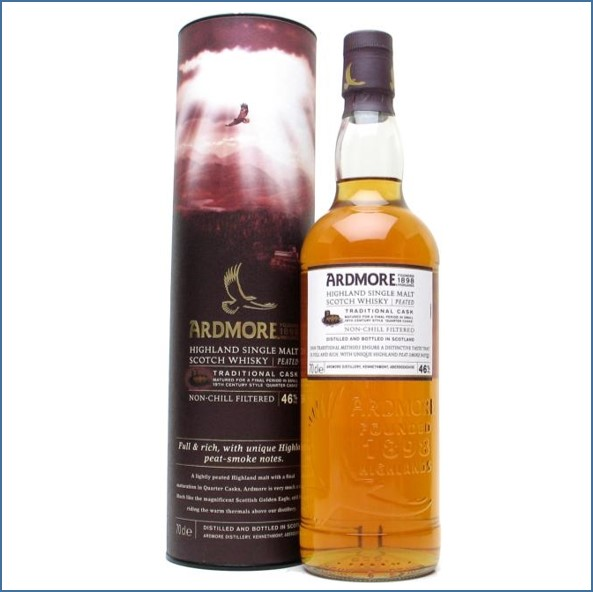 Ardmore Traditional Cask Highland Single Malt Scotch Whisky 70cl 46%