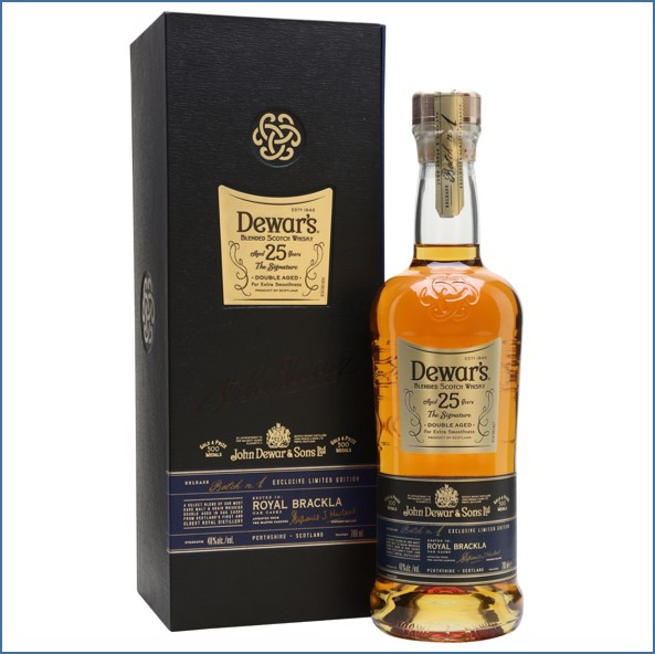 Dewars Signature 25 Year Old Blended Scotch Whisky 70cl 40%
