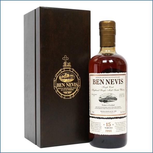Ben Nevis 15 Year Old 1998 70cl 56.1%