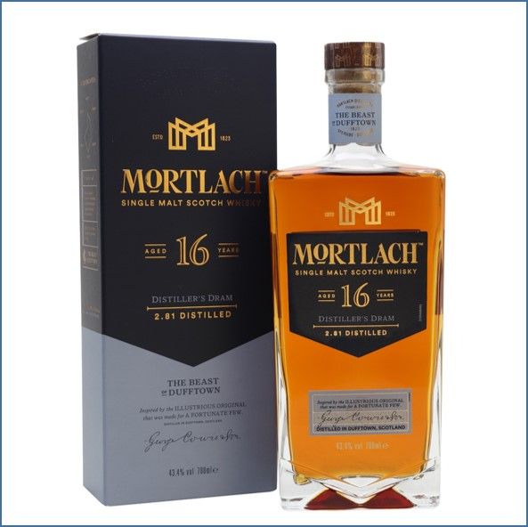 Mortlach 16 Year Old 70cl 43.4%