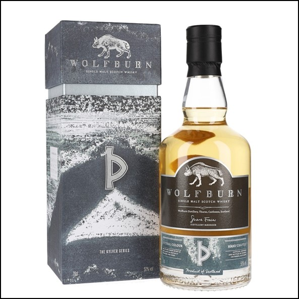 Wolfburn Kylver Series Release 3 2017 Highland Single Malt Scotch Whisky 70cl 50%