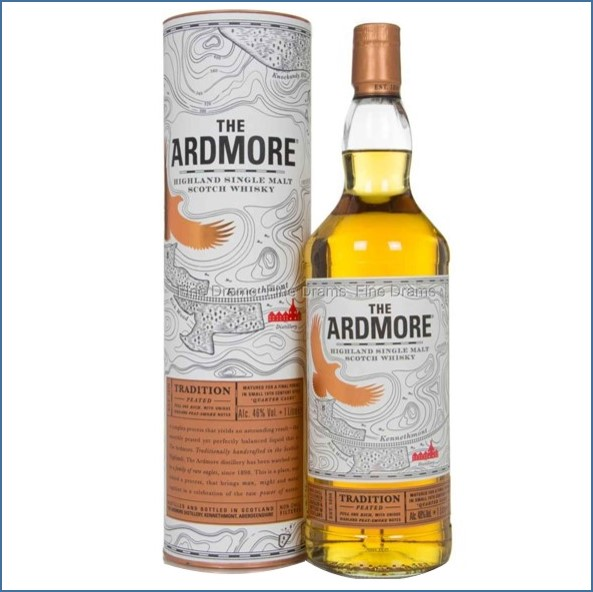 Ardmore Traditional Peated Liter 100cl 40%