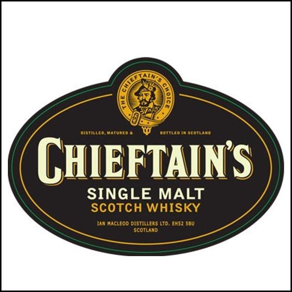Chieftain's  老酋長威士忌收購價格表