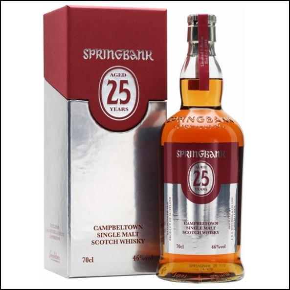 雲頂威士忌25年收購/Springbank 25 Year Old Bot.2019/2020 Campbeltown Single Malt Scotch Whisky 70cl 46%