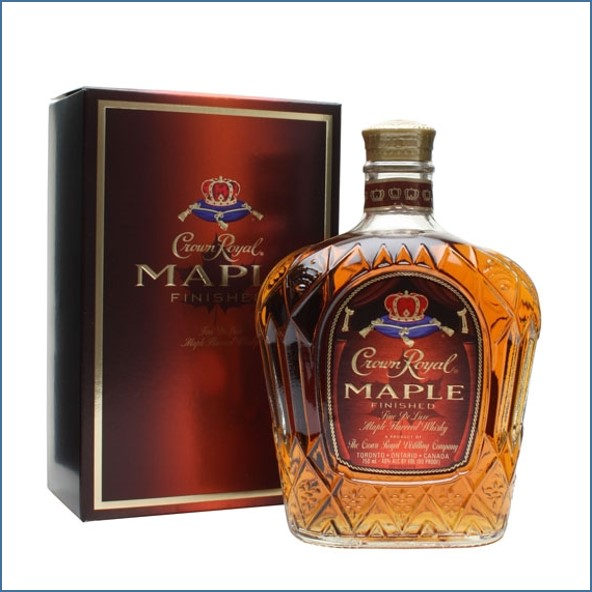 Crown Royal Maple Whisky Liqueur 75cl 40%