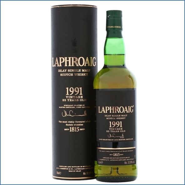 Laphroaig 23 Year Old 1991 70cl 52.6%
