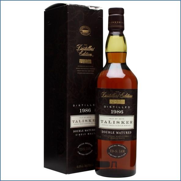 TALISKER 1986~2000 Distillers Edition 70cl 45.8%