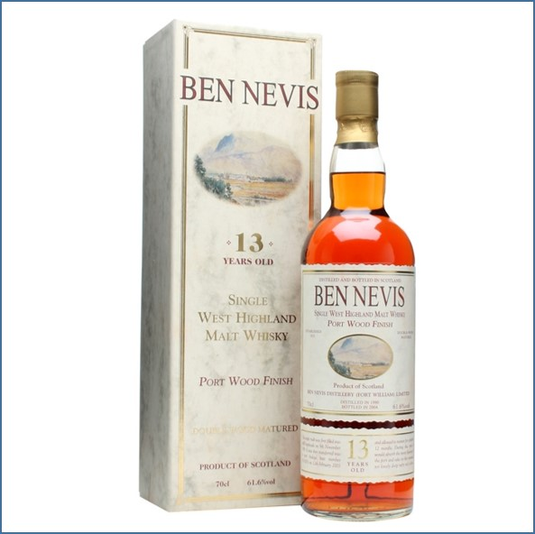Ben Nevis 13 Year Old 1990 Port Wood Finish 70cl 61.6%