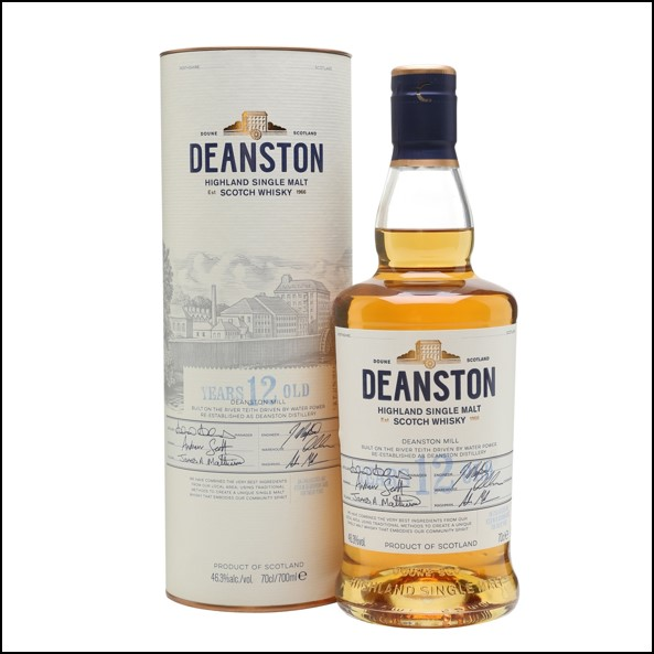 DEANSTON 12 YEAR OLD Unchillfiltered 70cl 46.3%