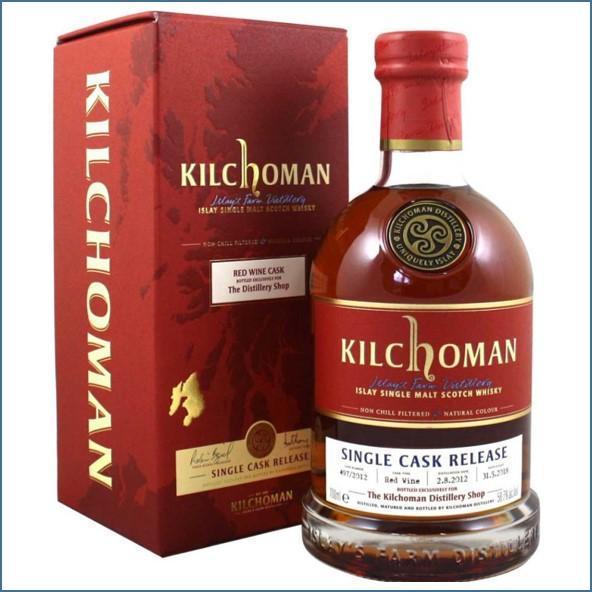 Kilchoman 2018 5 Year Old Red Wine Cask 2012 70cl 58.7%