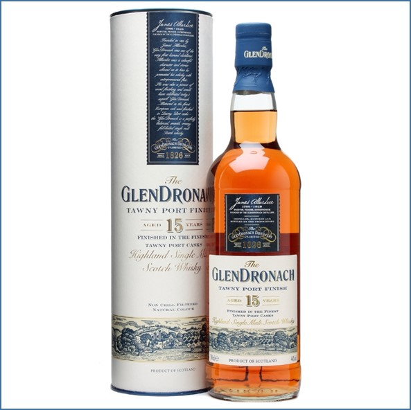 Glendronach 15 Year Old Tawny Port Finish 70cl 46%