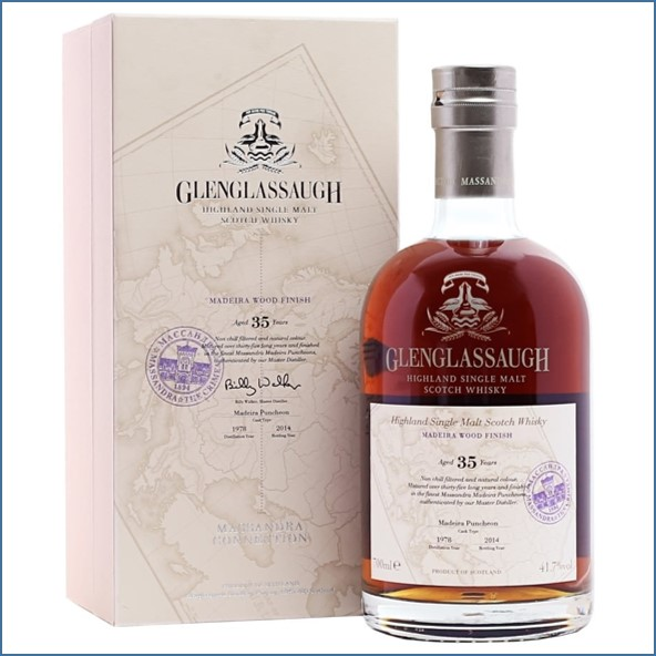 Glenglassaugh 1978 35 Year Old  Madeira Finish  Massandra 70cl 41.7%