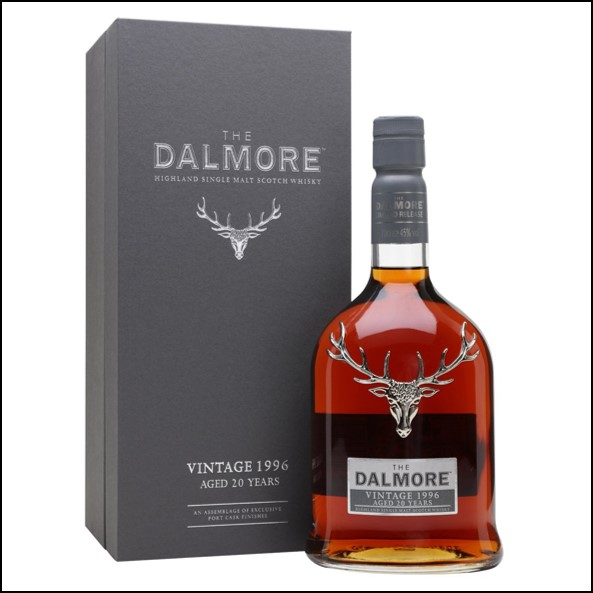 DALMORE 1996 20 Year Old Port Vintages Collection 70cl 45%  大摩20年威士忌收購