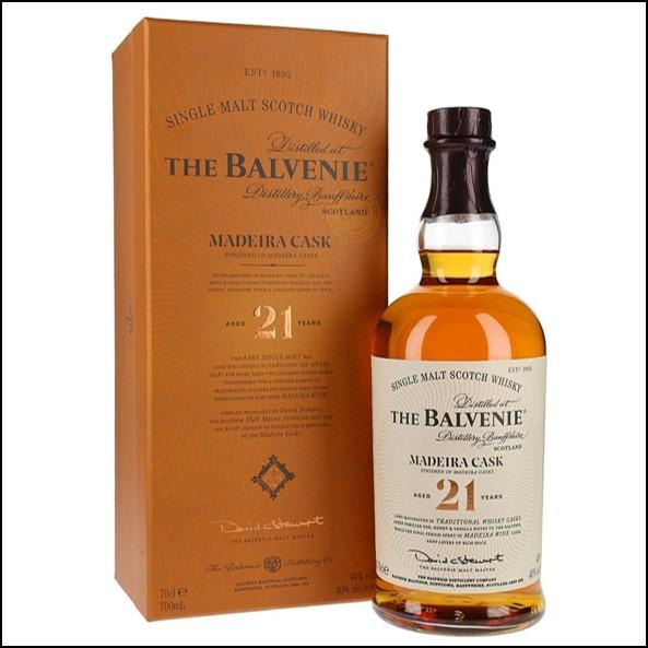 Balvenie 21 Years Old Madeira Cask 70cl 40%