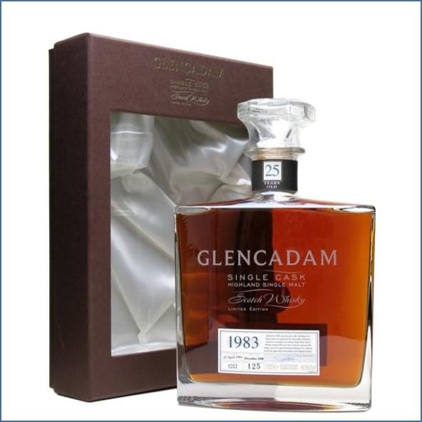 Glencadam 25 Year Old 1983 70cl 53%