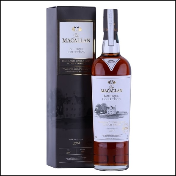 收購麥卡倫原酒 Macallan Boutique Collection  2016 Release 70cl 57%