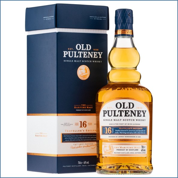 Old Pulteney 16 Year Old Travel Retail Exclusive 70cl 46%
