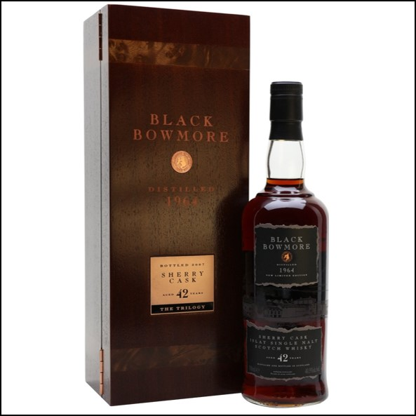 Black Bowmore  42 Year Old 1964 Sherry Cask 70cl 40.5%
