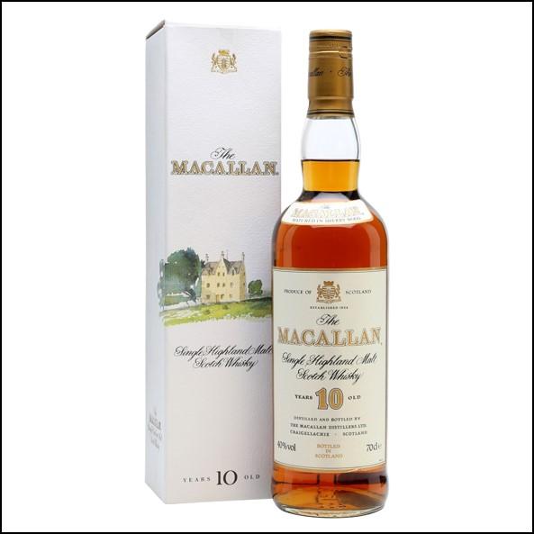 收購麥卡倫10年 雪莉桶圓瓶-綠莊園版/Macallan 10 Year Old Sherry Oak 70cl 40%