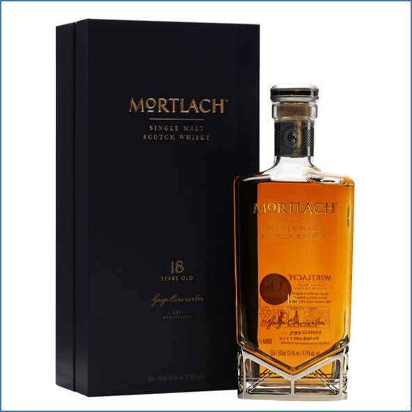 Mortlach 18 Year Old 50cl 43.4%