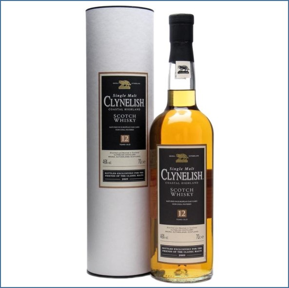 Clynelish 12 Year Old Friends of Classic Malts 70cl 46%