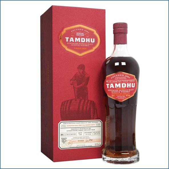 Tamdhu 120 Anniversary Single Cask Distillery Team Edition 70cl 59.3%