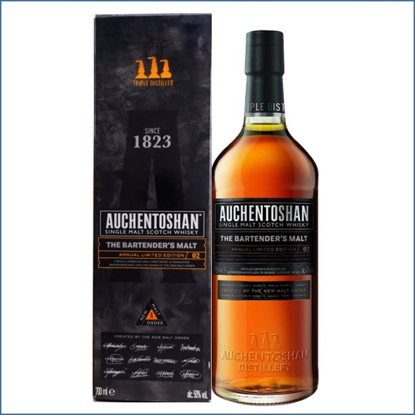 Auchentoshan The Bartender's Malt  Edition 02 70cl 50%