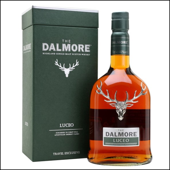 DALMORE LUCEO 70cl 40%  大摩威士忌LUCEO收購