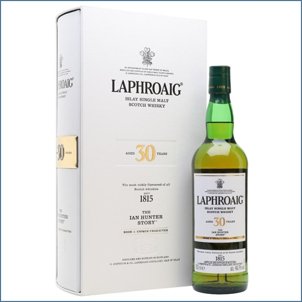 Laphroaig 30 Year Old - The Ian Hunter Story - Book 1 70cl 46.7%