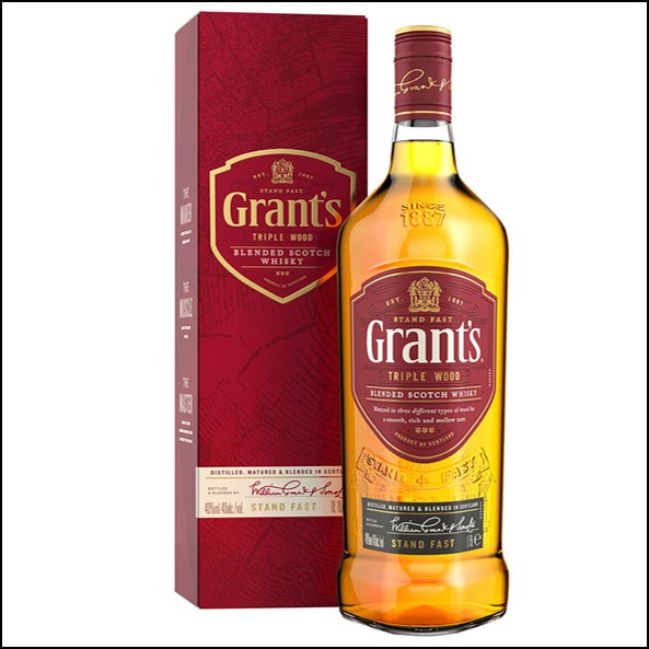 Grant's Family Reserve Triple Wood Blended Scotch Whisky 70cl 40%