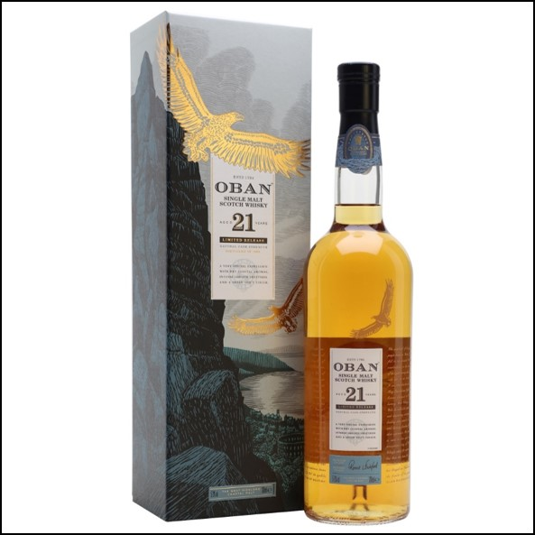 Oban 21 Year Old Special Releases 2018 70cl 57.9%