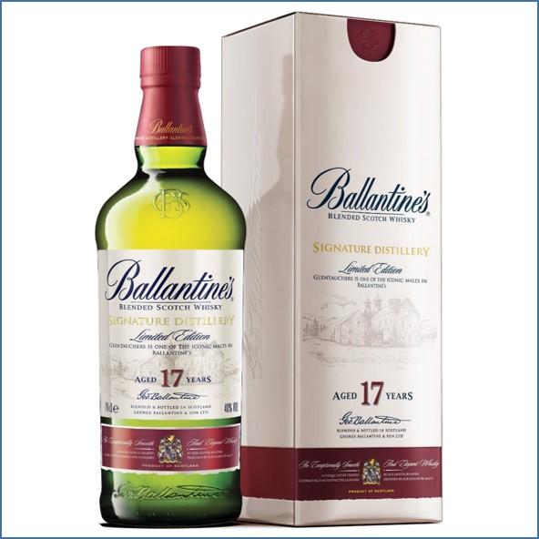 Ballantine's 17 Year Old Signature Distillery  Glentauchers 70cl 40%