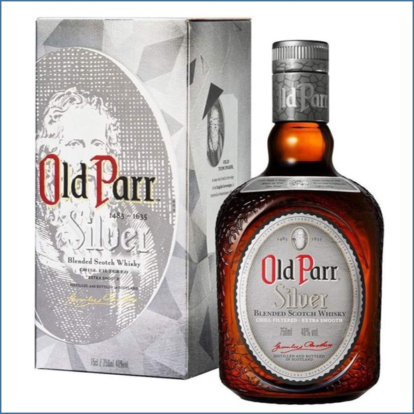 Whisky Old Parr Silver Blended Scotch Whisky 75cl 40%