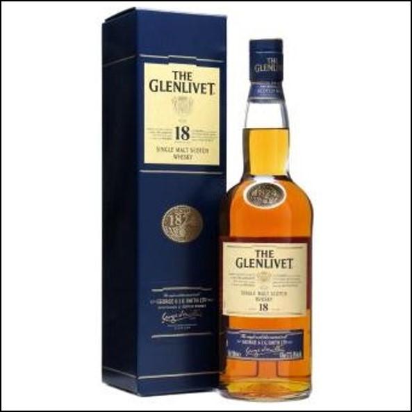 GLENLIVET 18 YEARS OLD 70cl 43%