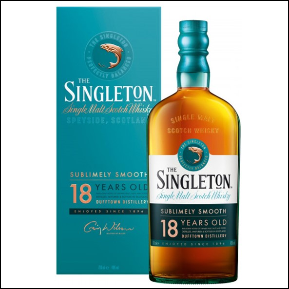 The Singleton 18 Year Old Single Malt Scotch Whisky 70cl 40%