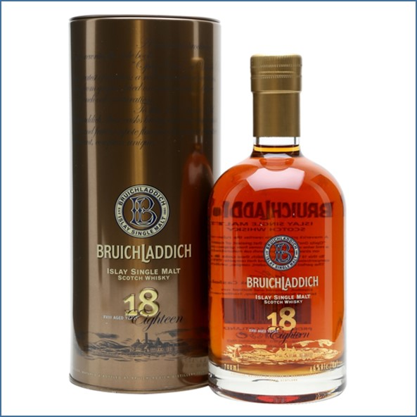Bruichladdich 18 years 2nd edition 70cl 46%