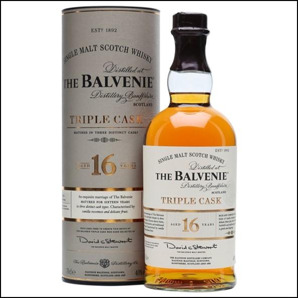 Balvenie 16 Year Old Triple Cask 70cl 40%