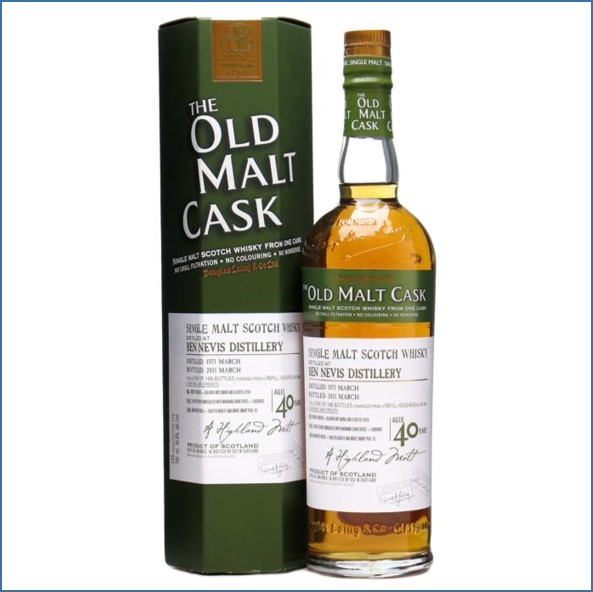 Ben Nevis 1971 40 Year Old Old Malt Cask 70cl 45.8%