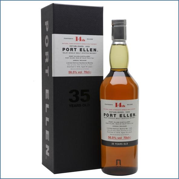 Port Ellen 1978 35 Year Old 14th Release 2014 70cl 56.5%