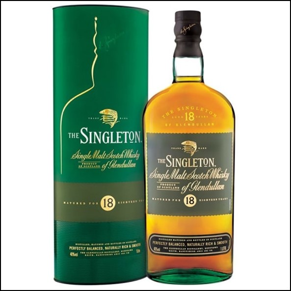 The Singleton of Glendullan Ord 18-year-old 100cl 40% 蘇格登18年收購