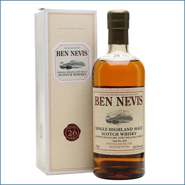 Ben Nevis 26 Year Old 1970 Cask #4533 75cl 52.5%