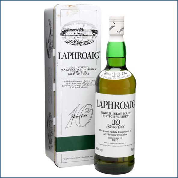 Laphroaig 10 Year Old Bot.1980s 75cl 40%