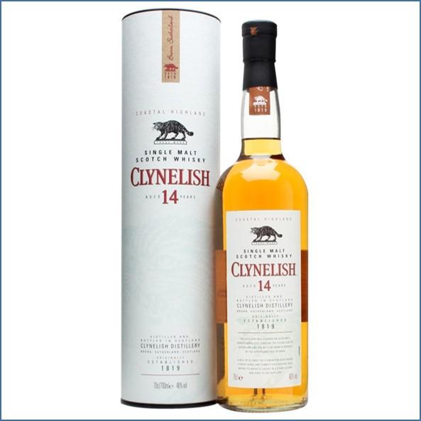 Clynelish 14 Year Old Highland Single Malt Scotch Whisky 70cl 46%