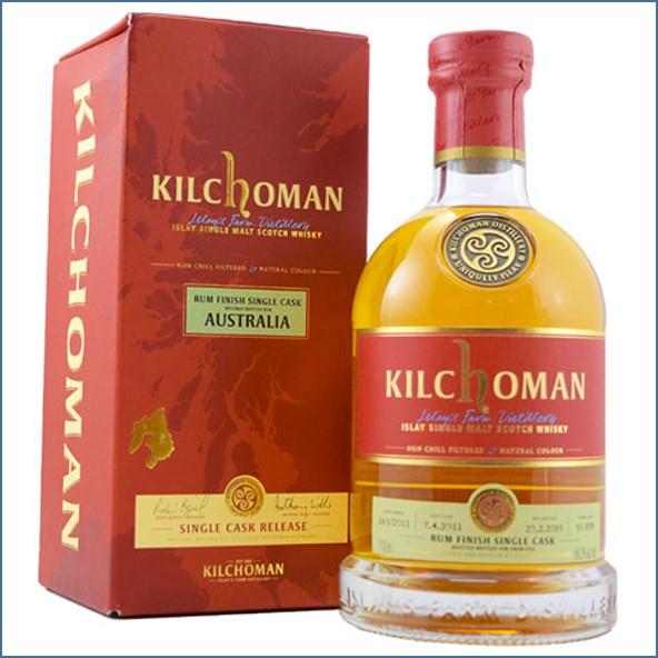 Kilchoman 2019 Australian Exclusive Rum Cask Finish Bot.2011 70cl 56.2%