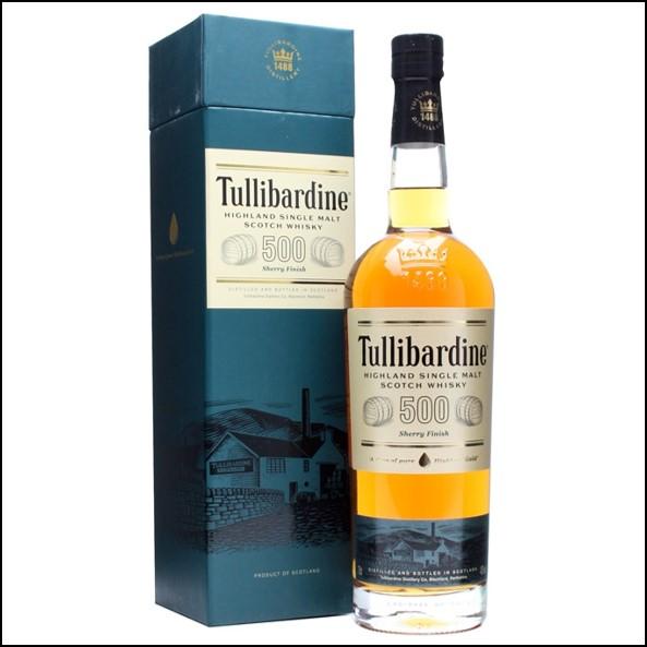 Tullibardine 500 Sherry Finish 70cl 43%